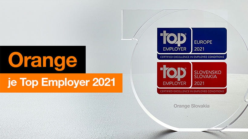 Orange obhájil titul Top Employer Slovensko po ôsmykrát