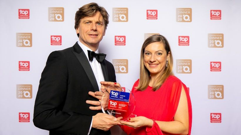 Orange aj tento rok ocenený titulom Top Employer Slovakia, Europe a Global
