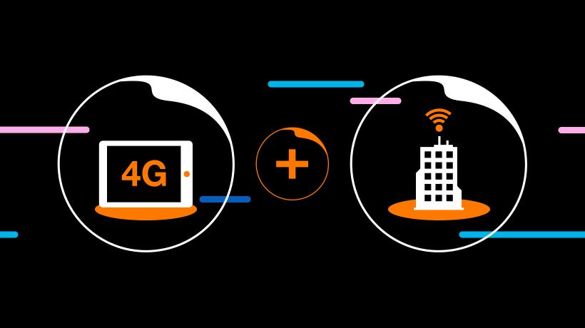 Vyberte si 4G internet pre vašu firmu v Orange