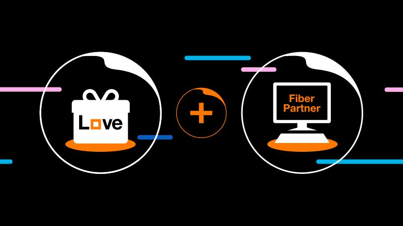 Objavte výhody balíka Orange Love s optickým internetom Fiber Partner