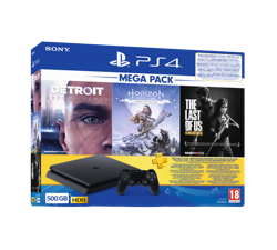 Sony PS4 500 GB 2020 3 hry